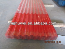 single color corrugated sheets roofing