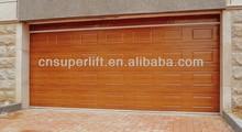 Sectional Overhead Manual Lift Garage Door