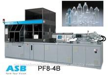 PET Beverage Bottle Stretch Blow Molding Machine PF8 - 4B