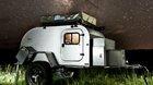 Camping Caravan tear drop