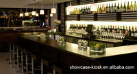 2013 New Feel ! Commercial Bar Counters Design With Light Music Style and POP Music Style