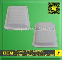 CA10190,A25655,49104,VA5655 Air Filter 17801-0D060,17801-0T030,17801-21050 For Scion xD; Toyota Yaris, Corolla, Matrix