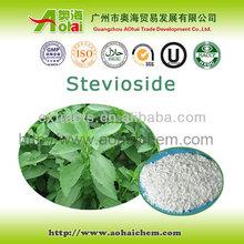 Top quality zero calorie stevia sugar with 40% to 98% Rebaudioside-A