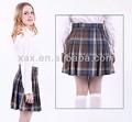 mejor venta de británico clásico uniforme de la escuela faldas