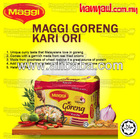 Maggi Curry Flavoured Fried Noodles