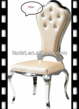 Factory price wholesale dining chairs with sponge upholstery