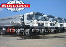 SHACMAN 8x4 used dump trucks