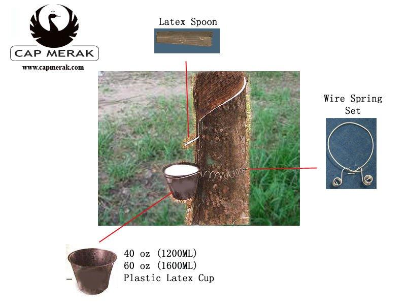 capmerak latex cup Full Set / Latex Spouts / Latex Cup
