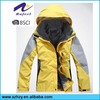 winter yellow super light jacket windbreaker