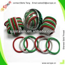 3MM Round Colorful Elastics Cord, 30MM Long Elastic Hair Bands,Bungee Hair Cord