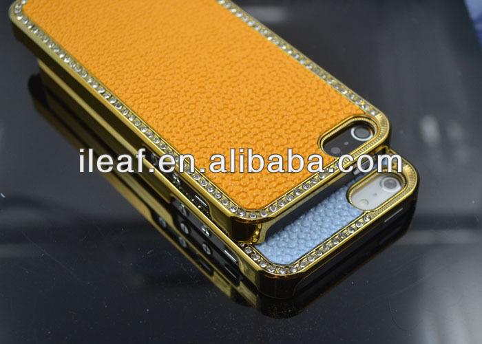 Luxury Crystal Diamond shining case for iPhone 5