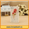 Flower Bling Phone Case for iphone/Rose Rhinestone Diamond Case for iphone 5