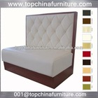 Topchina high quality restaurant sofa