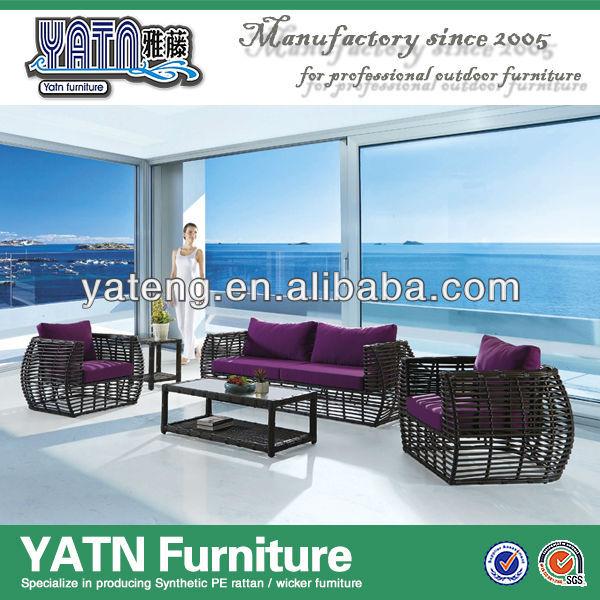 Aluminum modern Hotel sofa