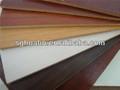 16mm coloridos folha de mdf para mobília/fabricante