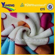 2014 Hot Sale Cartoon Design Flannel Fleece Export to Colombia