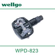 Wellgo Ball Bearing Aluminum Locking Plate Bicycle Pedal