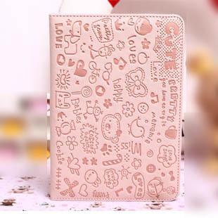 Cute case for ipad mini protective sleeve smart cover case for ipad mini shell dormancy holster