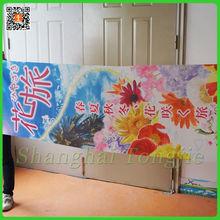 Publicité extérieure d'exposition Stand de bannière avec Slogan pour Tour