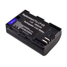 New version 1800mah for canon Eos 7d mark ii battery, camera battery
