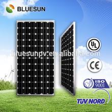 Bluesun TOP quality 36v 300w monocrystalline solar panel price india