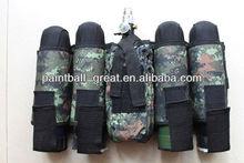 camo gear 4+1 Paintball Harness for military gear paintball guns