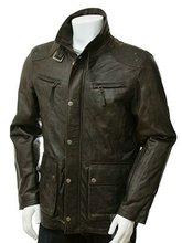 High Quality Men Leather Jacket/ leather coat