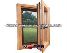 Moser horizontal and tilt opening casement window