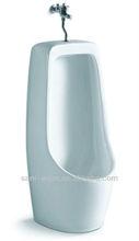 Good quality bathroom floor mounted ceramic urinal dimension S8542