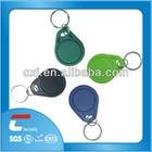 wholesale clear custom designed plastic nfc key tags