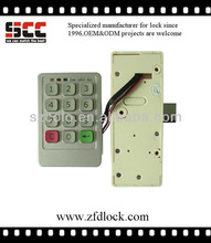 Unique design with high quality electric number lock for cabinet