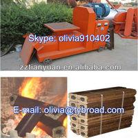Professional supplier wood shaving briquette briquetting making machine