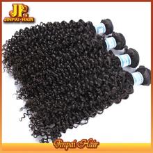 JP Hair 100% Virgin Natural Blonde Curly Human Hair Extensions