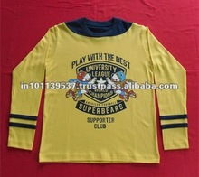 Fashionable Printed T-Shirts for Kids