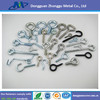 White Color and Yellow Color Eye Bolt, Small Stainless Steel Eye Bolts with Brass Plating, High Duty Wood Eye Screws