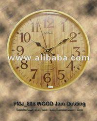 Souvenir Wallclock Promotion PMJ_505 WOOD JAM DINDING Souvenir/ Gift/ Promotion