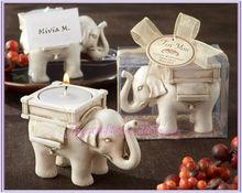 regalo di nozze elefante supporto di candela