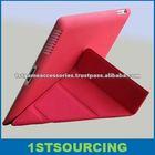 New 11 folding PU leather case for ipad2 3