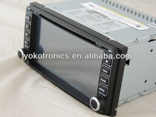 """YOKOTRON"" 6.95"" Touch TFT Car Radio DVD for Toyota Old Hilux/Old Corolla/RAV4 +DVR+Ipod+ GPS"