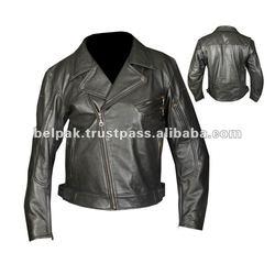Cruiser-Vintage Motorbike Leather Jackets For Men