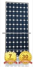 PV Module BBPV 200W PV Module Mono PV Solar Panel Price