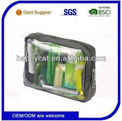 Custom 2014 New Clear PVC Travel Cosmetic Bag (UF-39204)