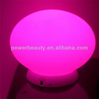 outdoor hanging color changing mood led light ball