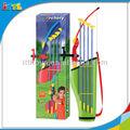 Venda quente não tóxico crianças desporto ao ar livre tiro com arco brinquedos de plástico tiro com arco conjunto de brinquedos