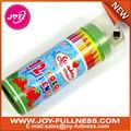 12 lápiz de color en colume caja de la lata