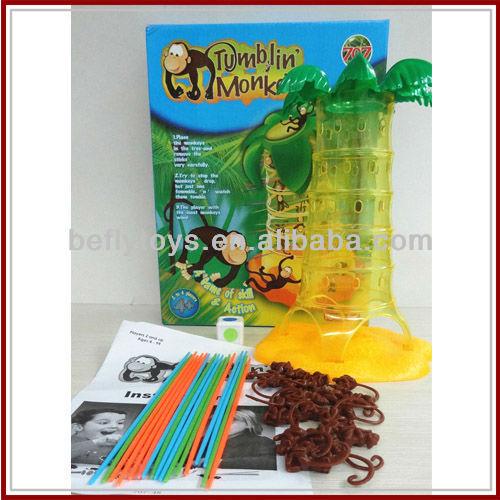 popular family toy falling monkeys game