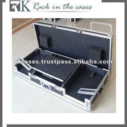 CDJ400/200+DJM600+CDJ400/200 Flight Case with Laptop Tray
