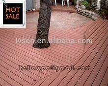 Polymer WPC decking floor board best for Veranda