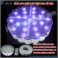 """Nouveau 6 """" LED lumière de base Super lumineux avec télécommande + lithium batterie + AC adaptateur"""