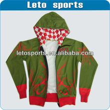 Fashion two tone hoodies custom